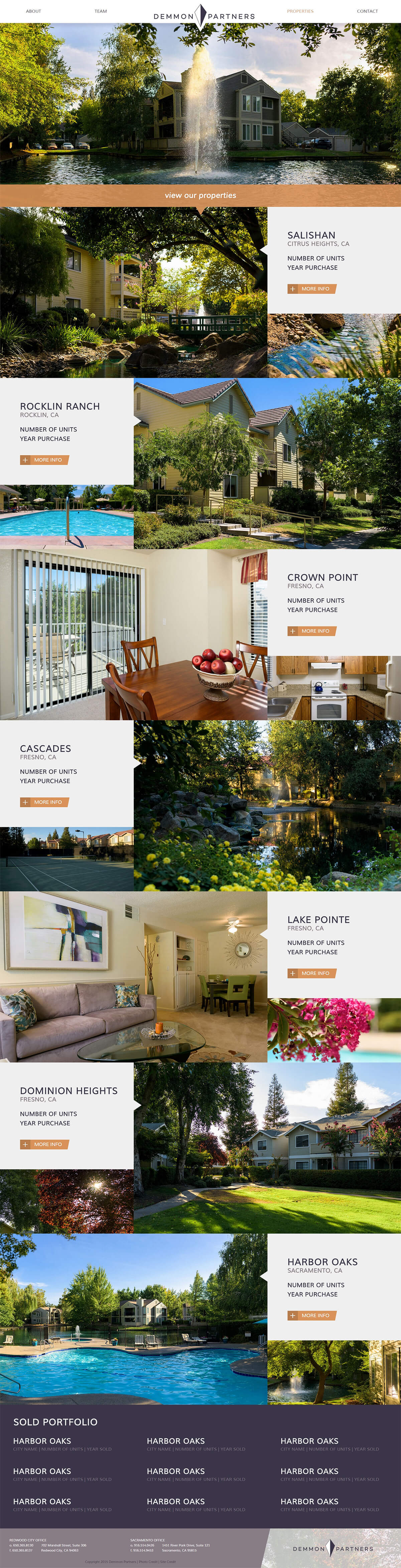 Demmon Partners Properties Page